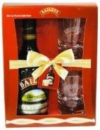Ликер Бэйлис 0,7 л + 2 стакана