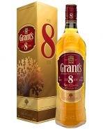 Виски Грантс 8 лет подарочная упаковка 0.7 л