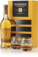 Виски Гленморанджи подарочная упаковка + 2 бок. 0.7 л
